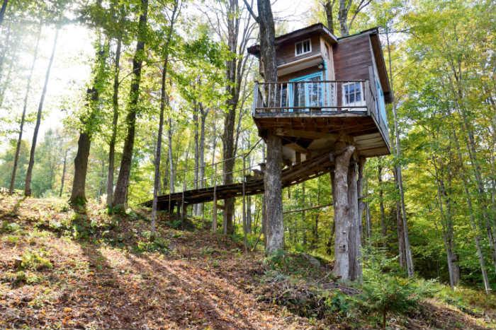15 δεντρόσπιτα για να ζήσεις για πάντα στο δάσος!